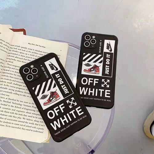 オフホワイト ナイキ ジョーダン コンボ Iphone 12 pro/12 pro max/12 miniケース ブランド Off White 創意 AJ ジャケット型 iPhone 11/11pro/11pro max/se2ケース Nike アイフォン12/X/XR/XS/8/7スマホケース Air Jordan ソフトカバー メンズ レディース
