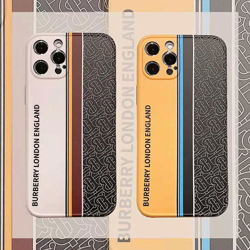 Burberry スプライシング色 iphone 12/12 pro/12 mini/12 pro max/se2ケース バーバリー モノグラム ブランド iPhone11/11 pro/11 pro maxケース ストランプ柄 面白い おしゃれ アイフォンx/xs/xr/8/7カバー メンズ レディース