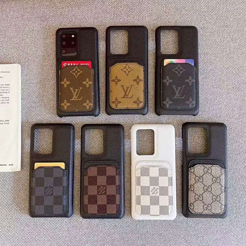 LV カード収納  iPhone 12mini/12 pro max/11/ se2ケース レザーケース ルイヴィトン ブランド 耐衝撃 Galaxy S20/S20+/S20 Ultra/Note20/Note20 Ultra/S10/note10 ジャケット型 軽量携帯 アイフォン12/12 pro/11 pro max/11 proカバー スマホケース カード入れ ポケット付 携帯ケース
