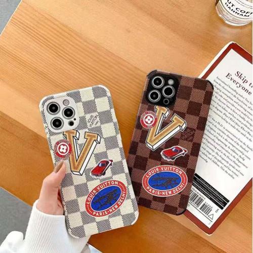 ルイヴィトン iphone 12 pro/12 mini/12 pro max/11 pro/11 pro max/se2ケース モノグラム 複葉機 車 ブランド LV 格子柄 シリコン 四角保護 可愛い アイフォン12/11/x/xs/xr/8/7カバー レディース