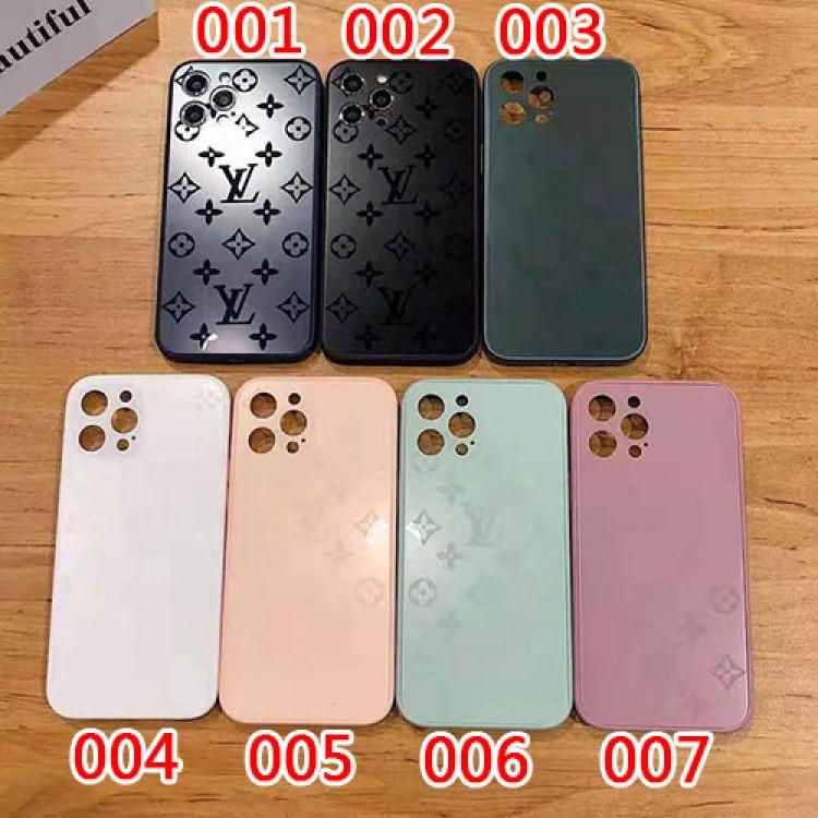ルイヴィトン iphone 12 mini/12 pro max/11 pro max/se2ケース お洒落 曇り 硝子型 lv ブランド モノグラム キラキラ シンプル アイフォン12/12 pro/11/11 pro/x/xs/xr/8/7カバー メンズ レディース