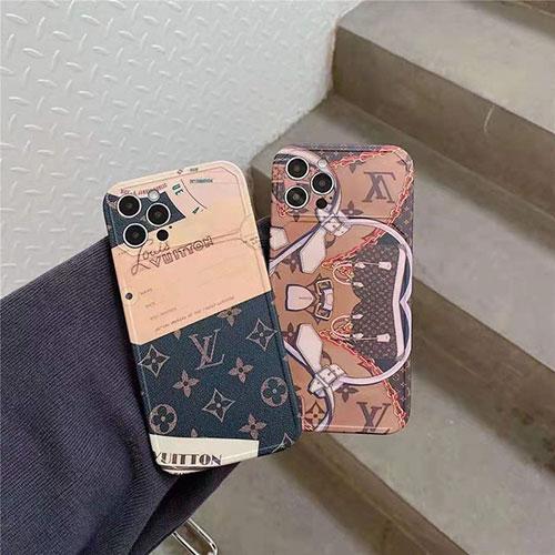 LV ブランド iphone 12/12 pro/12 mini/12 pro max/11/11 pro/11 pro max/se2ケース 韓国風 贅沢 バッグ風 ルイヴィトン モノグラム インプリント アイフォンx/xs/xr/8/7カバー レディース