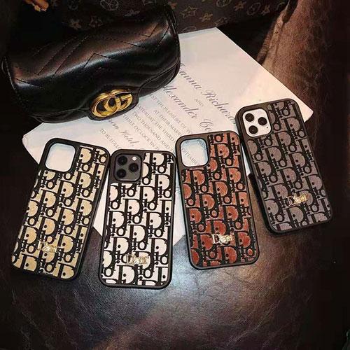 ディオール ブランド iphone12 mini/12 pro/12 pro max/11 pro/11 pro max/se2ケース Dior 経典 インスタ モノグラム 立体柄 ジャケット型 シンプル アイフォン12/11/x/xs/xr/8/7カバー ファッション メンズ レディース
