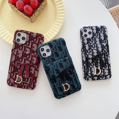 Dior ブランド iPhone13Pro max/13Pro/13 2021ケース 柔らかい布カバー  ディオール IPHONE 12pro max/12pro/12miniカバー 耐衝撃 かわいい  高品質 アイフォン11pro/11 pro max/11/se2ケース 経典スタイル レディース向け