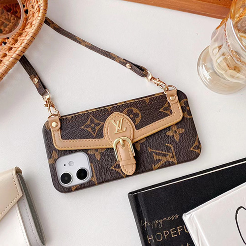 ブランド ルイヴィトン バッグ型 IPhone 13Pro max/13スマホケース 取り外し ストラップ付き 女の子 LV アイフォン13proカバー 斜め掛け ポケット付き iphone 12pro max/12pro/12ケース上質レザー 耐衝撃 光沢ある 金具 IPHONE11promax/11pro/11カバー 贅沢モノグラム 高級感 メンズ