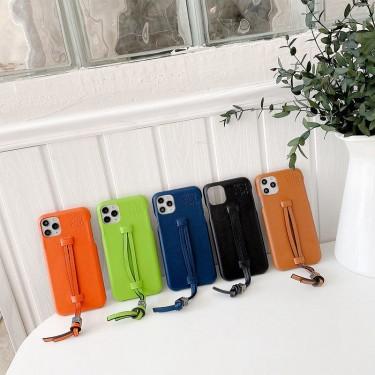Loewe/ロエベ女性向け iphone 12/12 pro /12 mini /12 pro maxケースiphone x/xr/xs/xs maxケース ビジネス ストラップ付きファッション セレブ愛用 iphone12 mini/11pro maxケース 激安