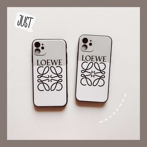 ロエベ iPhone 12 pro/12 mini/12 pro maxケース 可愛い LOEWE Galaxy s21/s20+ケース ジャケット型 iphone 12/11/xs/x/8/7ケース ペアお揃い huawei p40/30ケース 人気 アイフォンカバー ファッション レディース