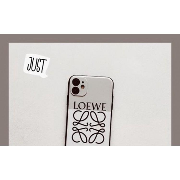 ロエベ Galaxy s21+/s21 ultra/s20+ケース ジャケット型 LOEWE iPhone 12 pro/12 mini/12 pro maxケース 可愛い アイフォン12/11/xs/x/8/7ケース ペアお揃い huawei p40/30ケース 人気 iPhoneカバー ファッション レディース