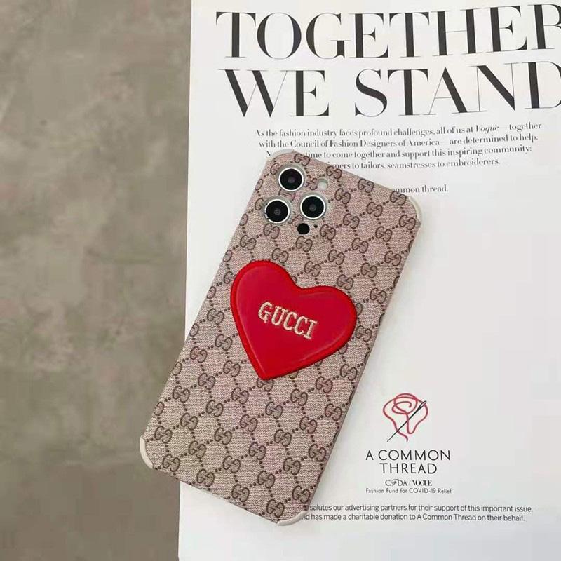 Dior ディオールiphone13/ iphone 12s/12 pro/12 pro max/12 mini ケース 心 刺繍