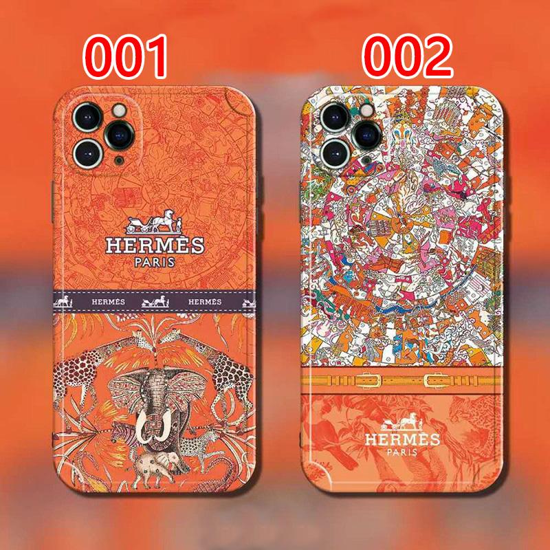 エルメスブランドiphone13/12pro maxスマホケース