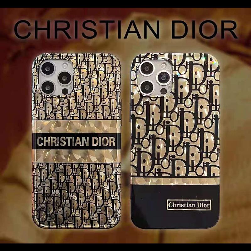 Dior メッキ柄 iphone 12 mini/12 pro max/11 pro max/se2ケース ブランド おしゃれ ディオール きらきら ジャケット型 モノグラム メンズ レディース