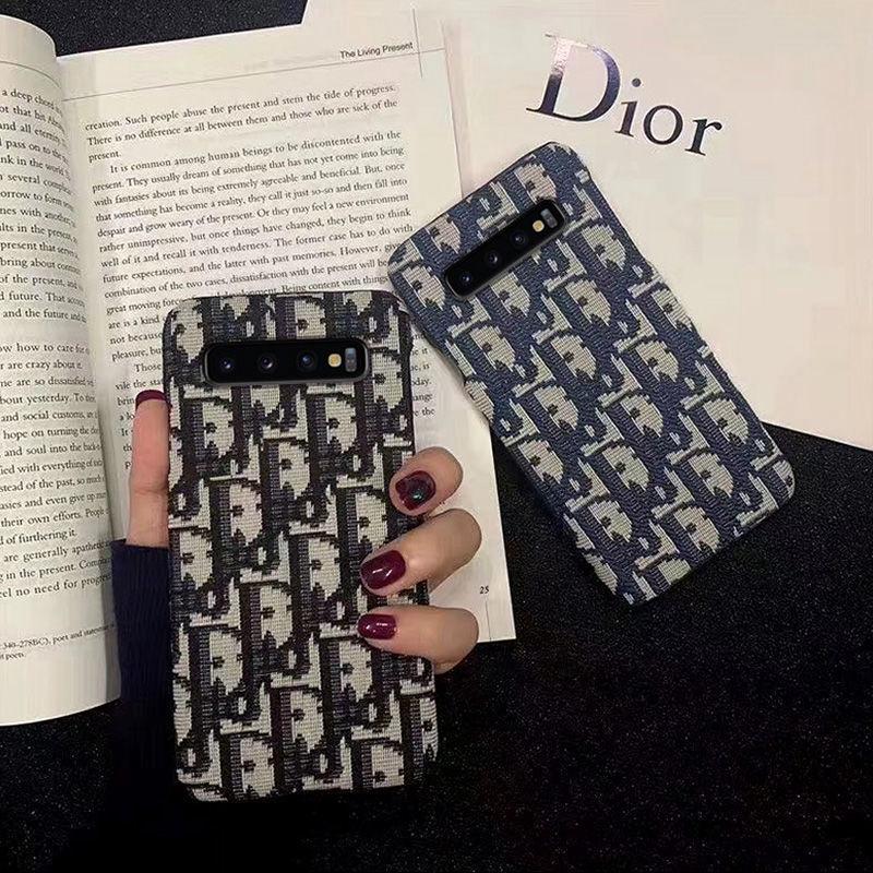 ディオール Galaxy s21/s20+/s10/s9ケース ブランド 布製 シンプル iphone 12 pro/12 pro max/12 mini/11 pro maxケース DIOR モノグラム セレブ愛用 ジャケット型