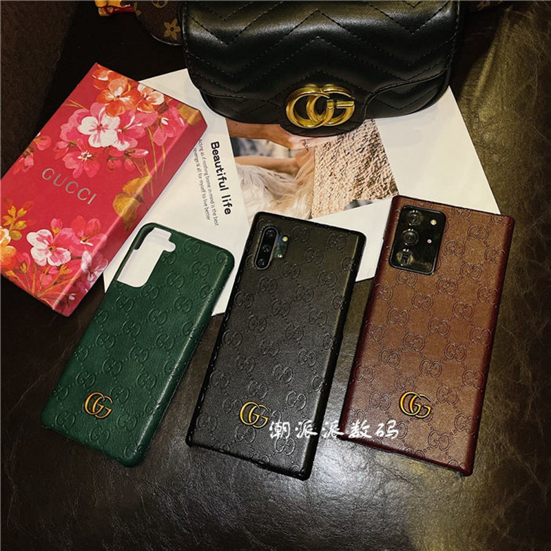 グッチ iphone 12/12 pro/12 mini/12 pro max/11/11 pro/11 pro max/se2ケース オシャレ GUCCI レザー 可愛い Galaxy S21/S21+/S21 ultra/s20 男女通用
