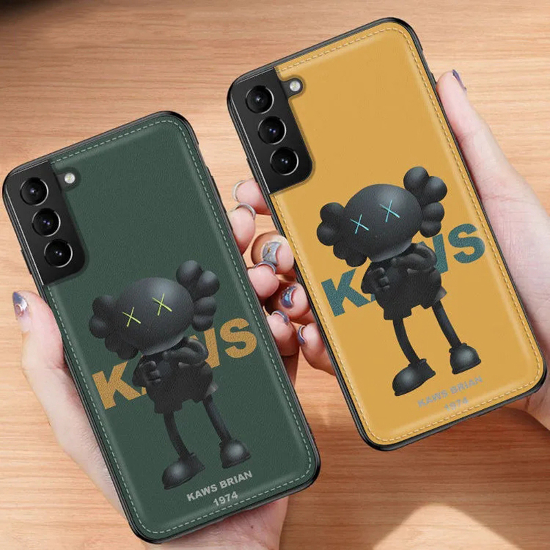 KAWS/カウズ 人気ブランド iphone12/12 pro/12 pro max/11 pro maxスマホケース レザー Galaxy S21/S21+/S21 ultra/s20/s20+/s20 ultra/s10/note20ケース シンプル kaws brian 韓国風 アイフォン12 mini/11/x/xs/xr/8/7/se2カバー 2021