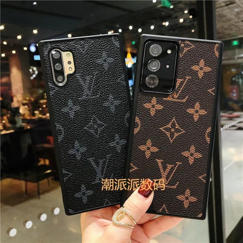 ルイ·ヴィトン 贅沢風 Galaxy S21/S21 ultra/S20 ultra/A51/A32/note20 ultra/note10ケース かわいい ブランド LV レザー質感 おまけつき 経典柄 iphone12 mini