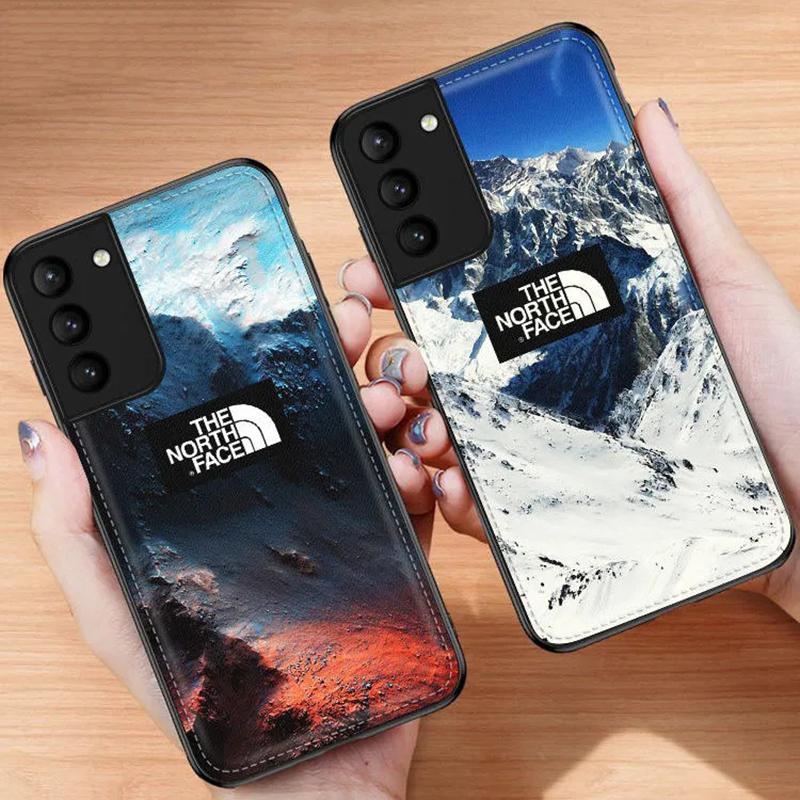 ザ・ノース・フェイス iphone 12 mini/12 pro max/11 pro max/se2ケース レザー 雪山柄 THE NORTH FACE ブランド シリコン Galaxy s21/21+/21ultra/s20/s20+/s20 ultra