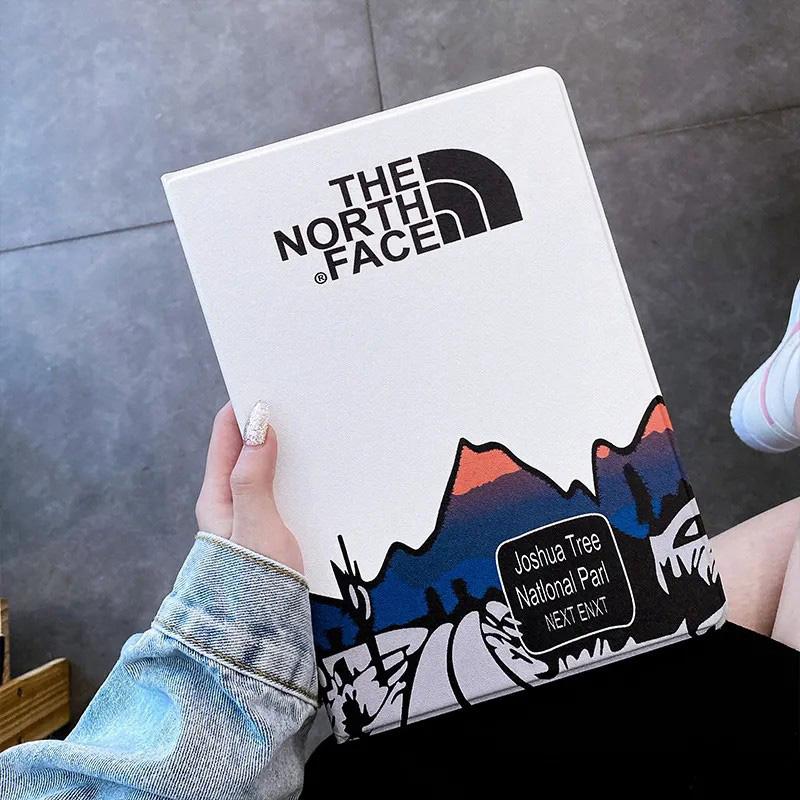 ブランドゼノースフェイスiPad7ケースかわいい