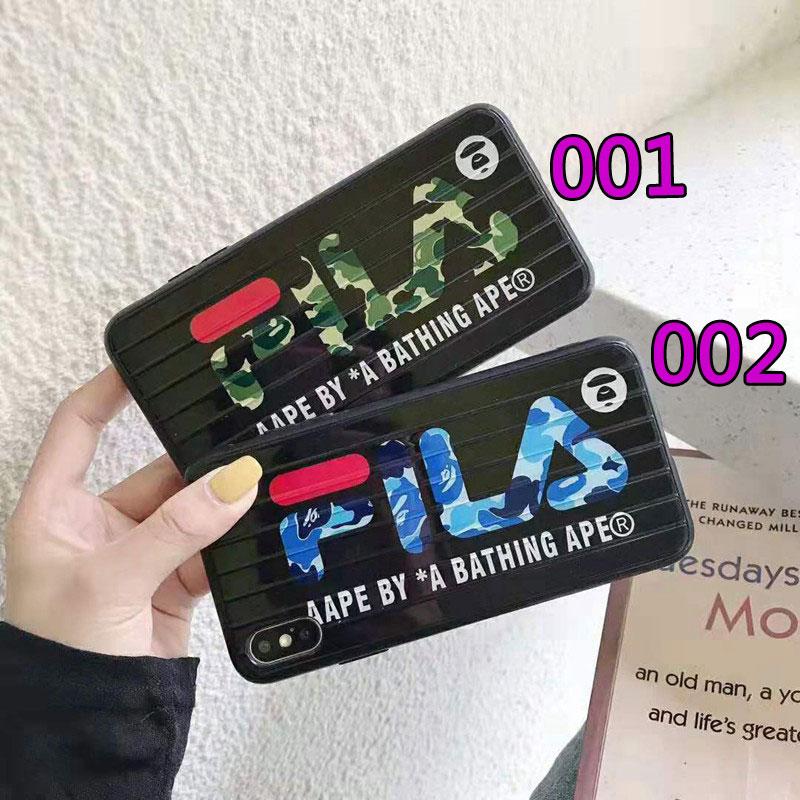 FILA アイフォンiphone 12/12mini/12pro/12pro maxケース