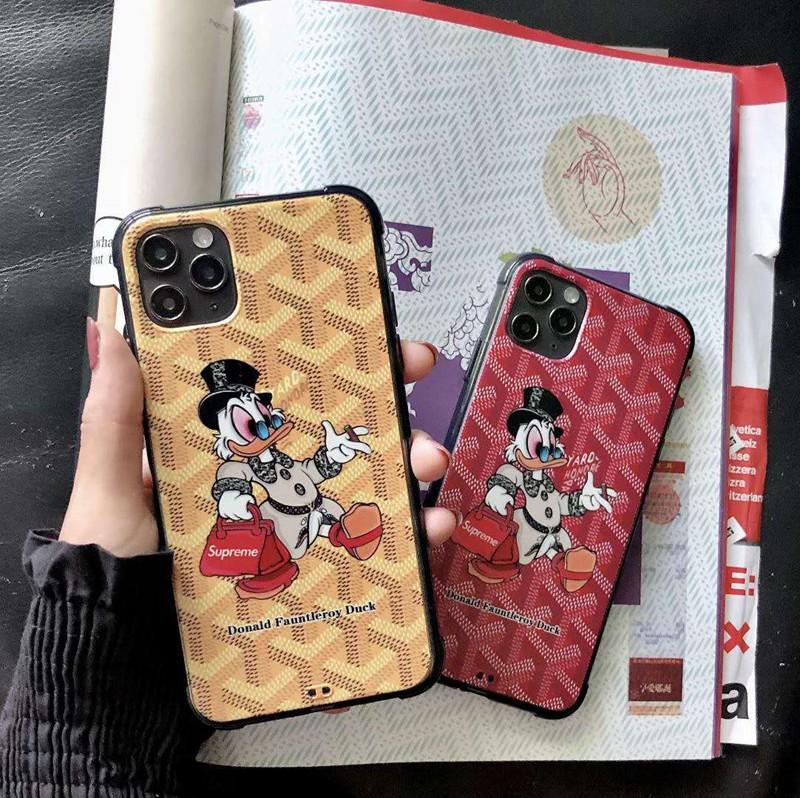 かわいいins風モノグラム iphone12/11pro maxケース ブランド
