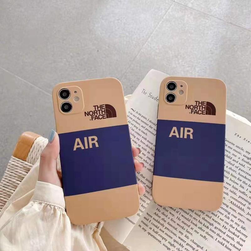 The North FaceザノースフェイスAirジョーダン コンボiphone12mini/12pro/12pro max/11ケース 韓国風 個性 ブランド シンプル モノグラム 可愛い 人気 アイフォンse2/x/xs/xr/8/7/6カバー
