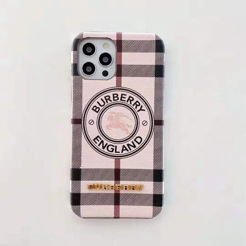 バーバリーBurberryブランドiphone12pro/12pro max/12mini/11ケース 騎士 立体モノグラム 縞柄 安い 女性愛用