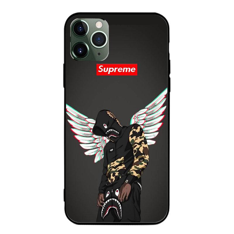 SupremeシュプリームAQUOS R5Gケースxperia5ii全機種対応 迷彩 ブランドiphone12miniバスケットボール 星空 ガラス ジャケット型 モノグラムGalaxy S20/a51女性