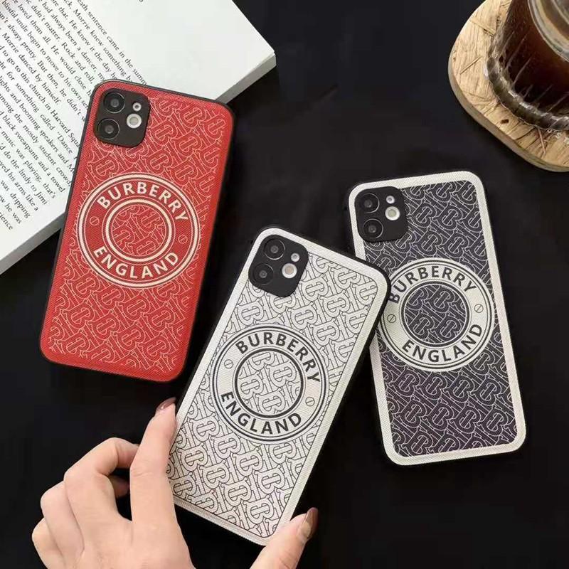 バーバリーburberryブランドiphone12pro/12mini/12pro max/11ケース シンプル 韓国風 モノグラム 安い 個性 女性向け アイフォンse2/x/xs/xr/8/7カバー
