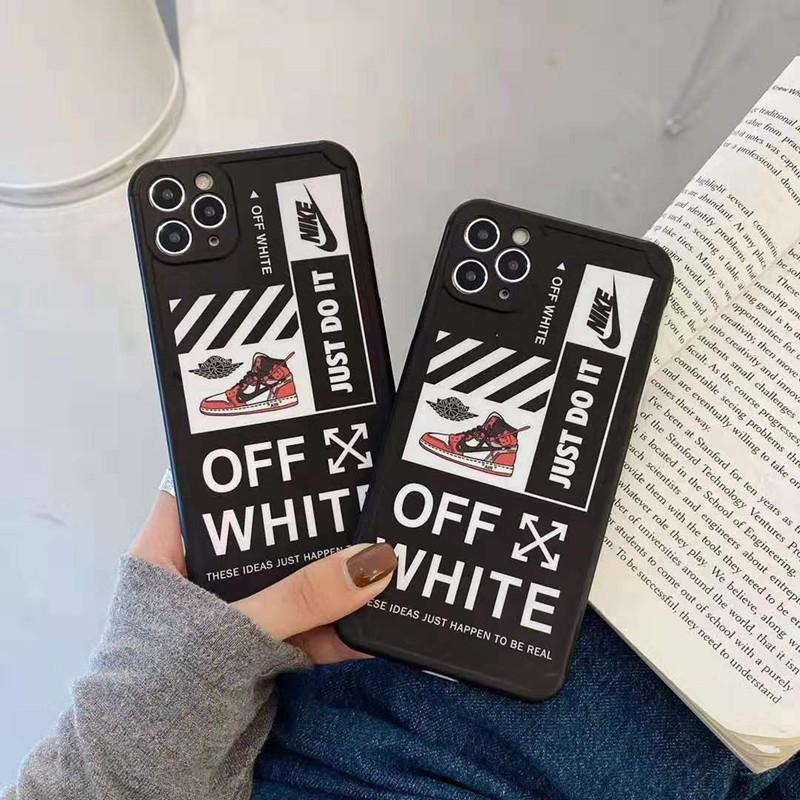 オフホワイト ナイキ コンボ Iphone 12 pro/12 pro max/12 miniケース ブランド Off White 創意 AJ ジョーダン iPhone 11/11pro/11pro max/se2ケース Nike