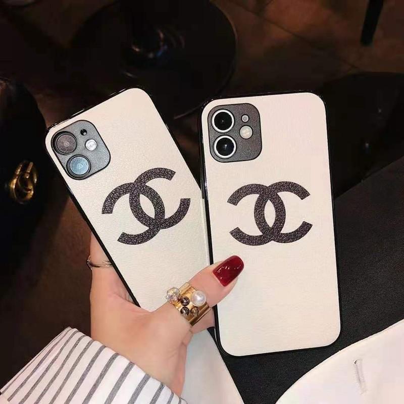 シャネル ブランド iphone 12 pro/12 mini/12 pro max/11 pro/11 pro max/se2ケース 可愛い Chanel 背面レザー iPhone 12/11/X/XS/XRケース フレーム アイフォン