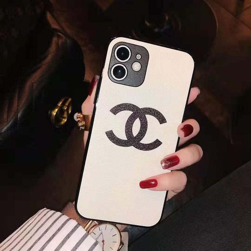 Chanelシャネル ブランドiphone12pro/12mini/12pro max/11ケース 革製 フレーム 芸能人愛用 Huawei p40 女性向け アイフォンx/xs/xr/8/7カバー