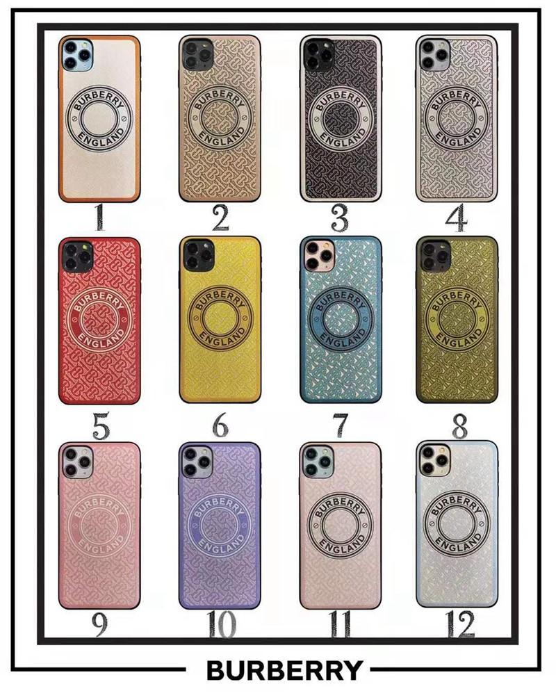 バーバリー iphone 12 mini/12 pro max/11 pro max/se2ケース 可愛い モノグラム デニム風 burberry ジャケット型 アイフォン12/12 pro/11/11 pro/x/xs/xr/8/7カバー 衝撃吸收