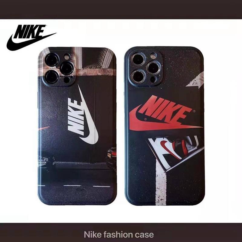 ナイキ iphone 12/12 pro/12 mini/12 pro max/11/11 pro/11 pro maxケース ブランド NIKE スニーカー 車柄 AIR JORDAN モノグラム iPhone X/XS/XRケース アイフォン