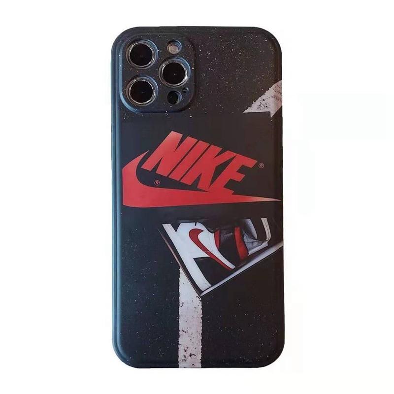 Nike ナイキ ブランドiphone12pro/12mini/12pro max/11ケース ins風 スニーカー車柄 AirJordanエアジョーダン モノグラム 男女通用 アイフォンx/xs/xr/8/7カバー
