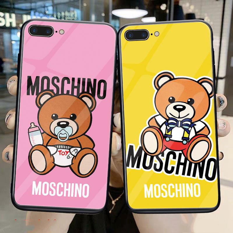 Moschino きらきら Galaxy a51/a30/a20/s20/s20+/s20 ultra/s10/s10+/note20 ultra/note10/note9ケース MOSCHINO Huawei お洒落 メンズ レディース